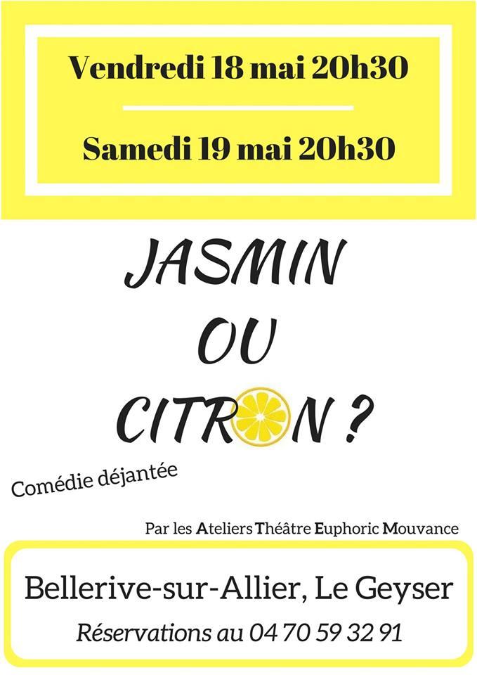 Jasmin ou Citron ? (A.T.E.M. Groupe » Adultes «)