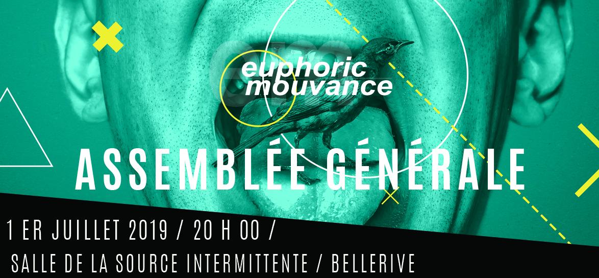 Assemblée Générale – Lundi 1er Juillet – 20 h – Salle de la source intermittente de Bellerive